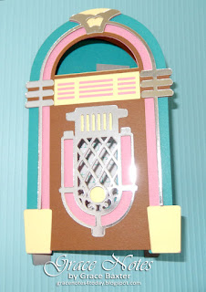 Jukebox b-day card, by Grace Baxter