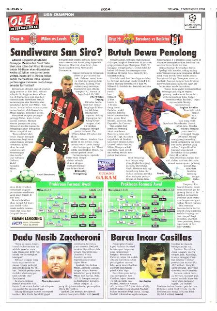 MILAN VS LEEDS SANDIWARA SAN SIRO
