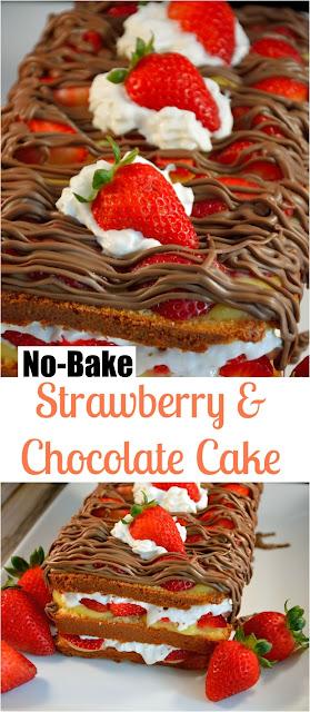 No-Bake Layered Cake
