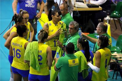 Brasil vence Polônia na estreia do Montreux 2017 vôlei feminino