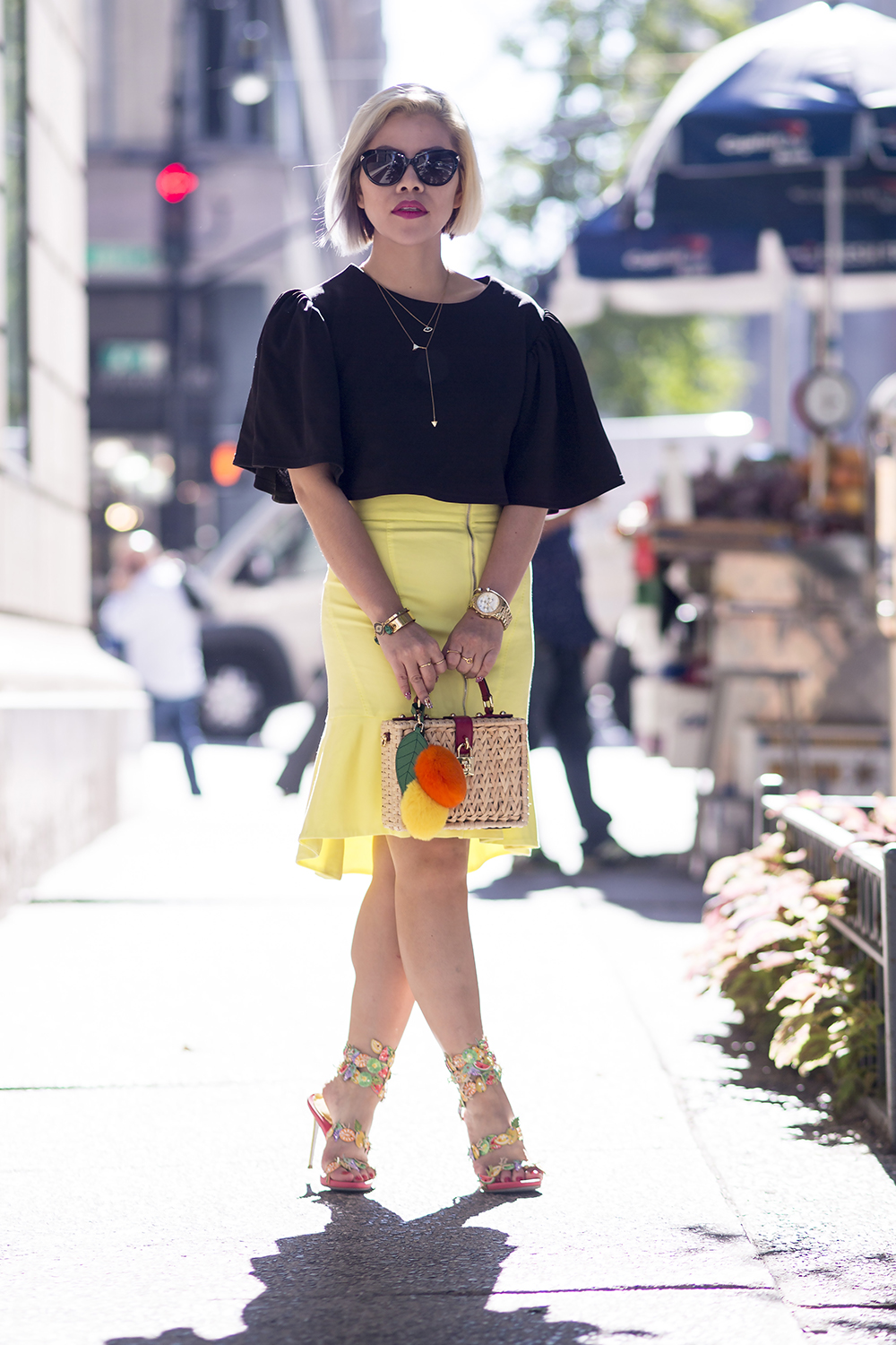 New York Fashion Week 2015- Fashion Blogger Crystal Phuong- Streetstyle