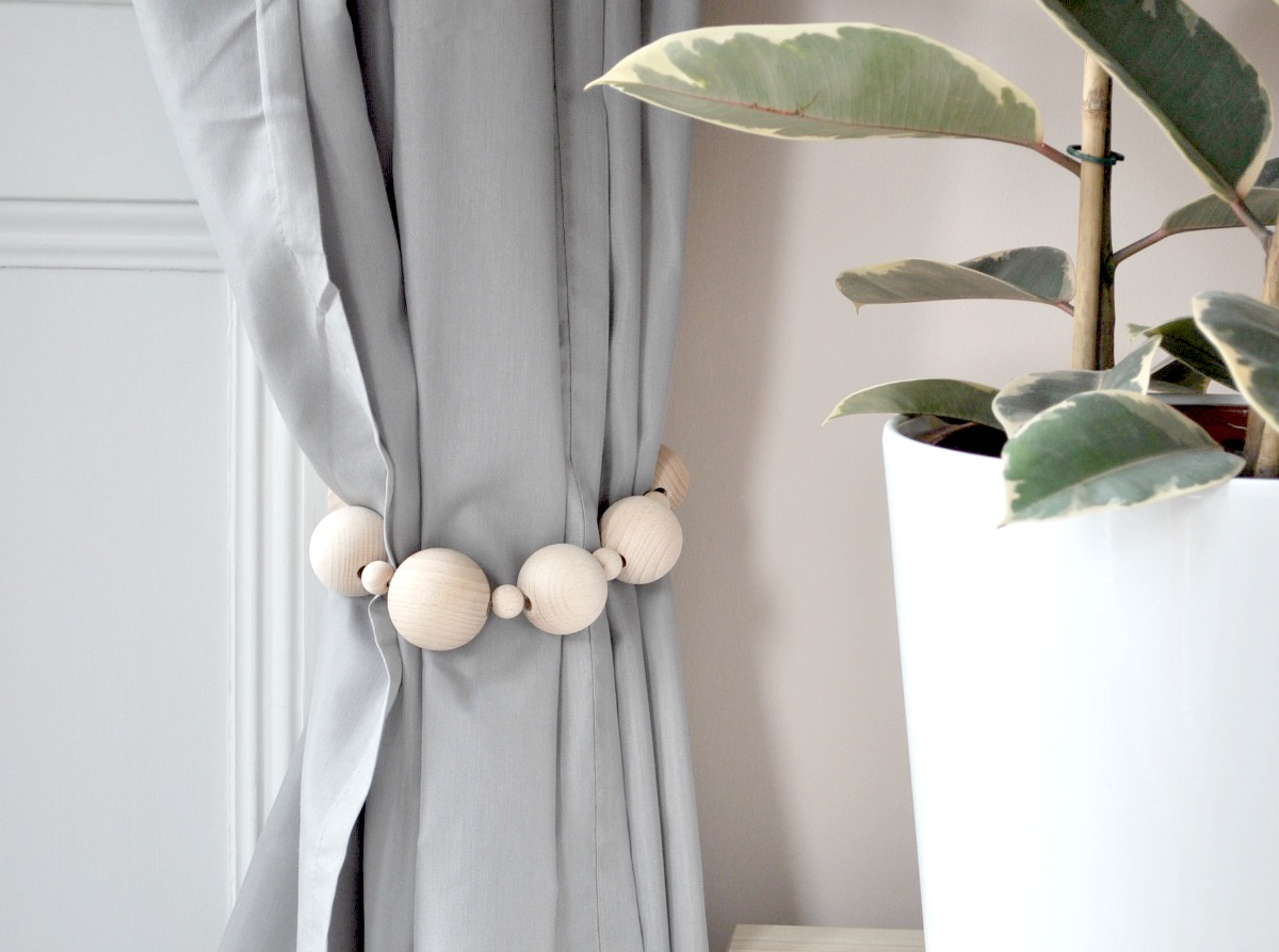 Gardinen Raffhalter Selber Machen Beautiful Diy Curtain Ties Backs On A Budget Interior