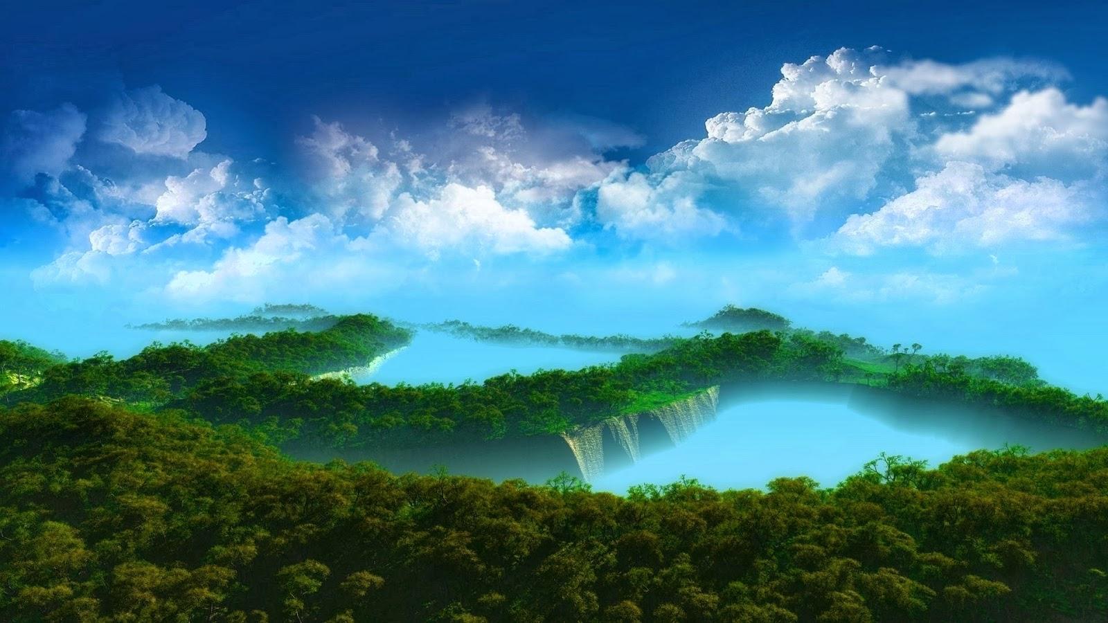 3D landscape wallpapers - Mobile wallpapers