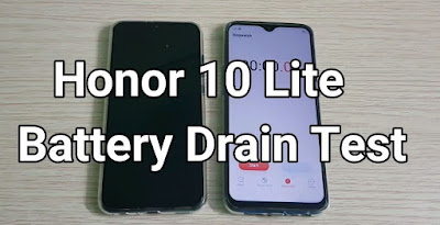 Honor 10 Lite Battery Drain & Charging Time Test