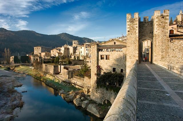 Besalú na Catalunha