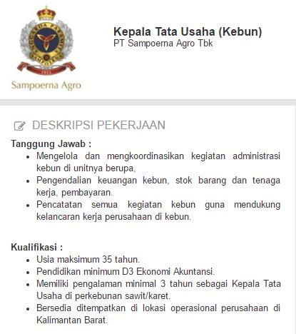 Lowongan Kerja Kabupaten Sintang Terbaru 2019