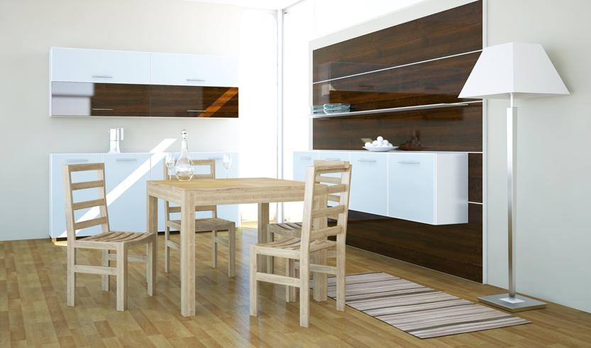 Lg lesmo tavolo da cucina allungabile lg lesmo for Tavolo sala da pranzo moderno