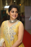 Nivetha Thamos in bright yellow dress at Ninnu Kori pre release function ~  Exclusive (37).JPG