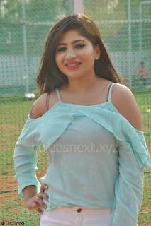 Madhulagna Das looks super cute in White Shorts and Transparent Top 66.JPG