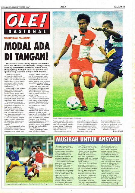 TIM NASIONAL SEA GAMES MODAL ADA DI TANGAN!