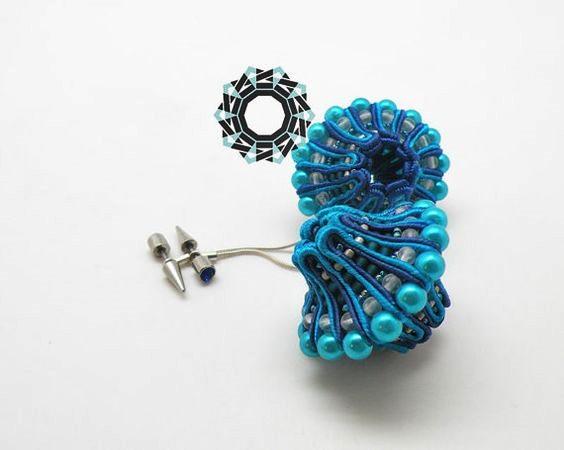 sutaszowa biżuteria w 3D