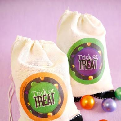 DIY Sachet à Bonbons d'Halloween