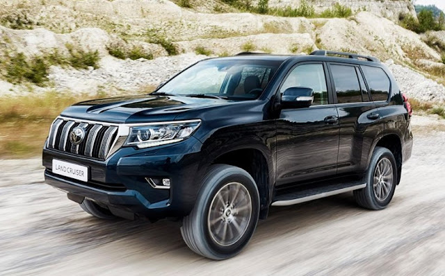 2019 Toyota Land Cruiser Rumors