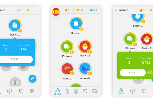 Duolingo APK Mod 4.16.2 - Phần mềm học ngoại ngữ 2019