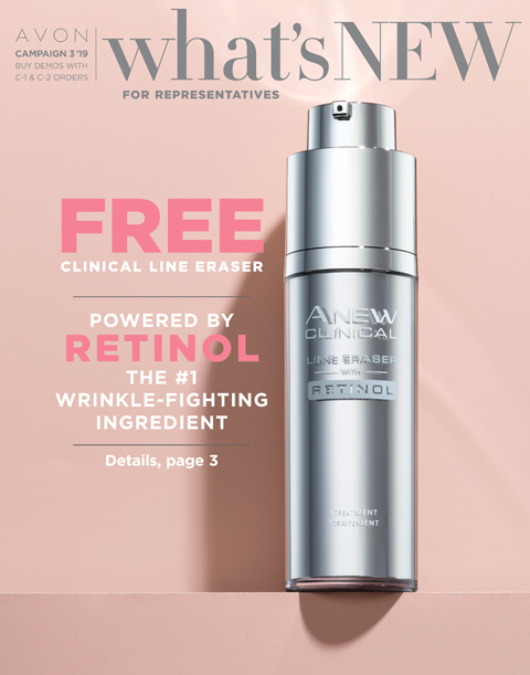 Avon Campaign 3 2019 - What's New For Reps Only