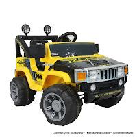 Mobil Mainan Aki Wimcycle Hummer Batman Lisensi