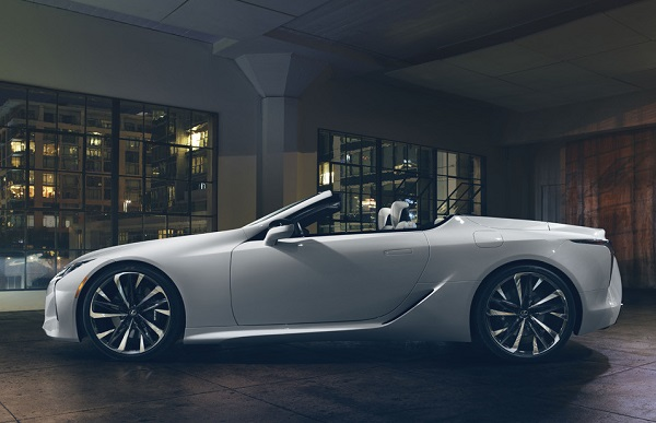 Lexus LC Convertible 2019