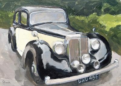 #98 '1948 Alvis' 5×7″