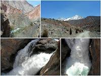 Водопад на Искандарье, окрестности Искандеркуля, Фанские горы, Таджикистан