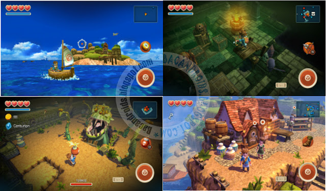 Game Oceanhorn update Apk data Full Mod terbaru Android