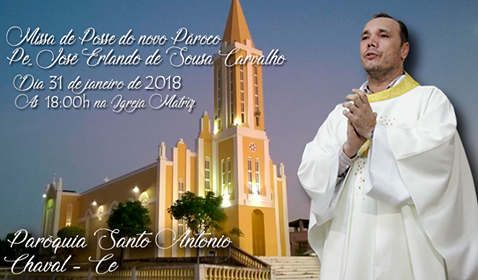 Paróquia de Chaval receberá novo pároco nessa quarta (31)