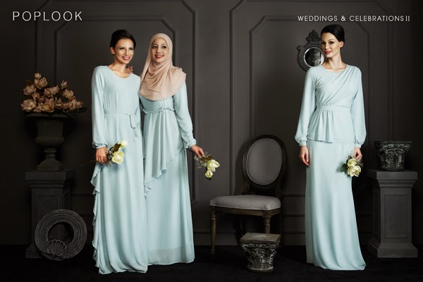 Poplook Weddings  Celebrations Collection  Dalillah Ismail