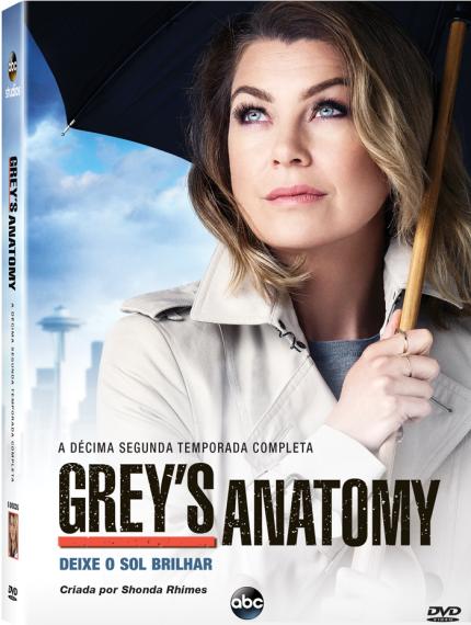 "Disney Club: DVD ""Grey's Anatomy - 12ª Temporada"" Em Pré ..."