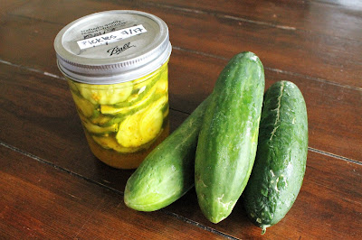 Bread & Butter Pickles - Farmers Market Inspiration #Celebrate365