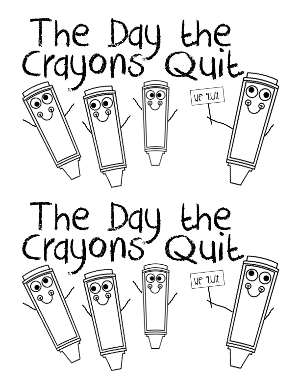Kearson's Classroom: The Day the Crayons Quit