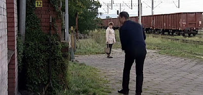 Kamieniec Ząbkowicki film dworzec