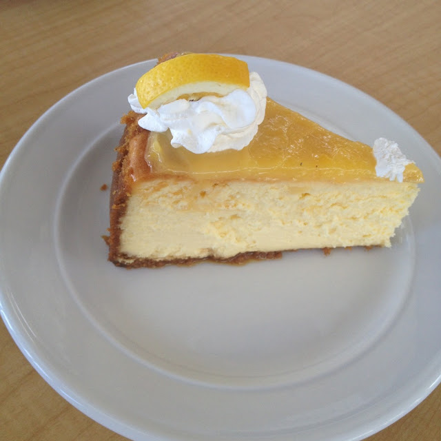 Lemon custard cake at Room For Dessert