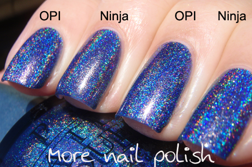 Ninja Polish Glamorous More Nail Polish