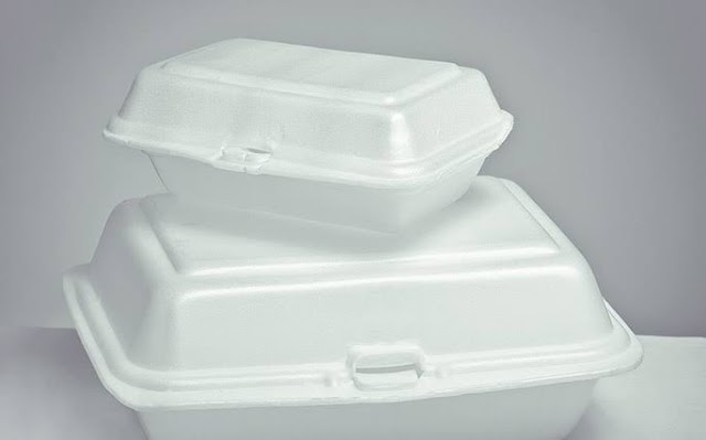 Hazardous effect of Polystyrene food containers causing an ending use in Maryland