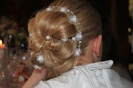 beads in hair