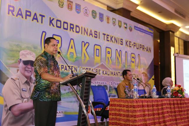 Dinas PUPR Kalsel Terapkan SMK3 dan Siap Mendukung PON 2024