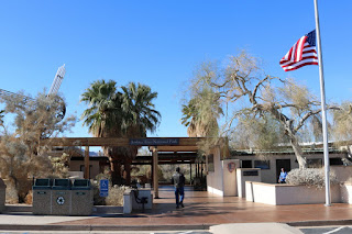 National Park Service Oasis Visitor Center on Utah Trail, Twentynine Palms, near the north entrance to Joshua Tree National Park