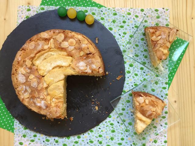 tarta de manzana receta