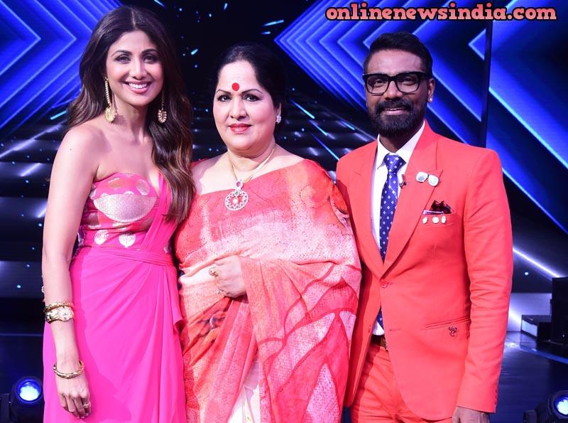 From left Shilpa Shetty, Sunanda Shetty and Remo D'Souza