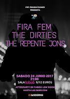 Concierto de Fira Fem, The Dirties y The Repente Jons en Sala Taboó