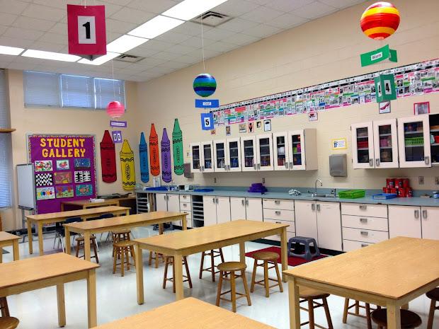 Elementary School Art Room Classroom