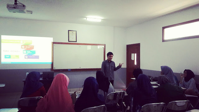 Saya Diundang Menjadi Pemateri Bahasa Inggris Di English Club Himpunan Mahasiswa Bahasa Inggris UHAMKA (English Student Association)
