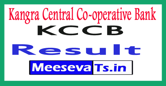 Kangra Central Co-operative KCC Bank Result 2017