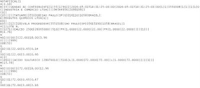 NeXT ERP Importação da NF-e em formato TXT para integração com outros sistemas
