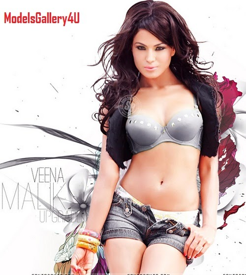 Pakistani Muslim Hot Actress Veena Malik Sexy Photo HD Wallpapers #Veena
