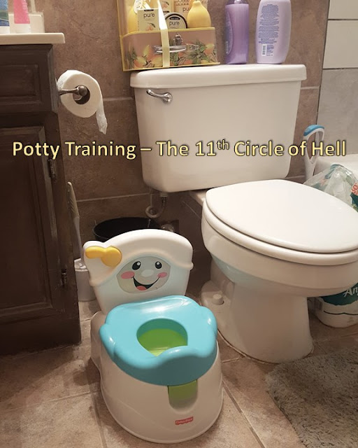 Potty Training - 11th Circle of Hell - Attempt #1