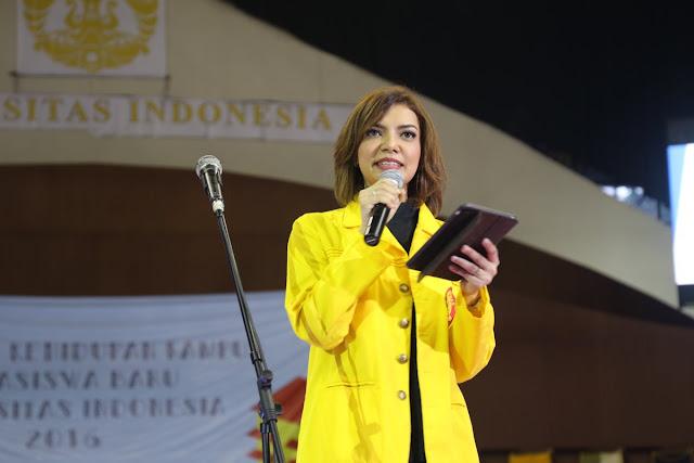 Najwa Shihab Mata Najwa Saat OKK UI 2016