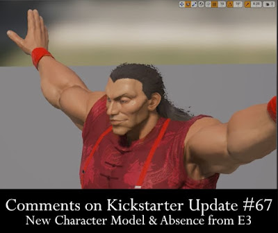 Comments on Kickstarter Update #67