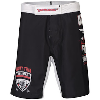 UFC Men's Torrance Fight Shorts - Black
