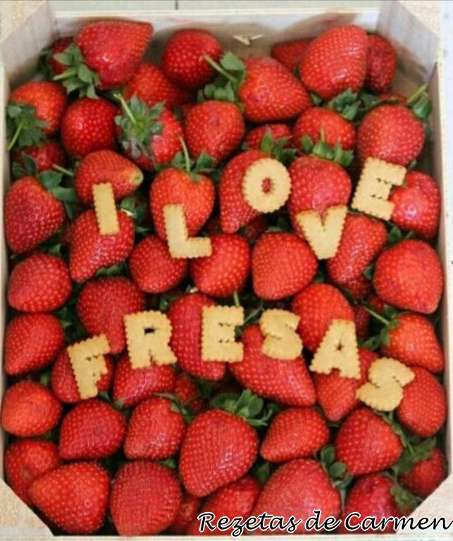 Recopilatorio de recetas con fresas