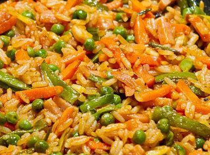 Recetas comida f cil colombiana y algo m s arroz con verduras for Almuerzos faciles caseros